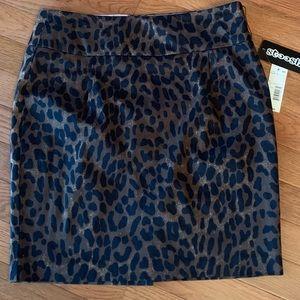 NWT Stooshy 🐆 animal print miniskirt